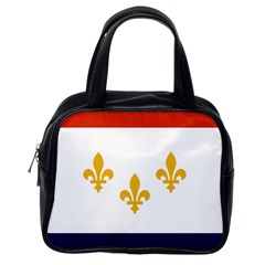 Flag Of New Orleans  Classic Handbags (one Side)