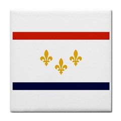 Flag Of New Orleans  Face Towel