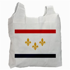 Flag Of New Orleans  Recycle Bag (one Side)