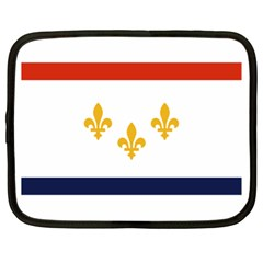 Flag Of New Orleans  Netbook Case (xl)