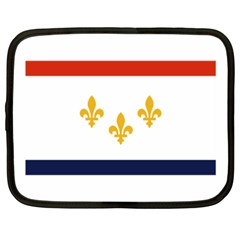 Flag Of New Orleans  Netbook Case (xxl)