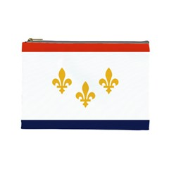 Flag Of New Orleans  Cosmetic Bag (large)
