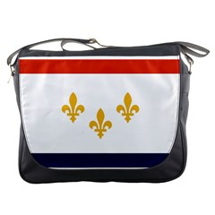 Flag Of New Orleans  Messenger Bags