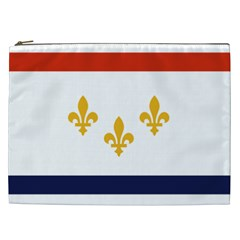 Flag Of New Orleans  Cosmetic Bag (XXL)
