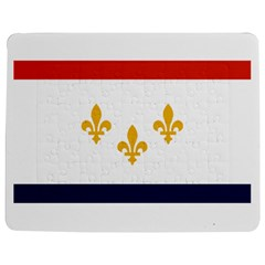 Flag Of New Orleans  Jigsaw Puzzle Photo Stand (rectangular)