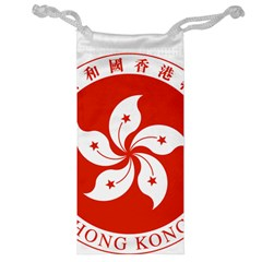 Emblem Of Hong Kong  Jewelry Bags