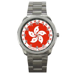 Emblem Of Hong Kong  Sport Metal Watch