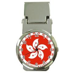 Emblem Of Hong Kong  Money Clip Watches