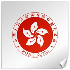 Emblem Of Hong Kong  Canvas 20  X 20