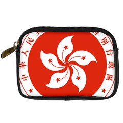 Emblem Of Hong Kong  Digital Camera Cases