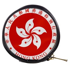 Emblem Of Hong Kong  Mini Makeup Bags