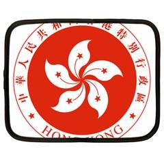 Emblem Of Hong Kong  Netbook Case (xl)