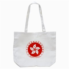 Emblem Of Hong Kong  Tote Bag (White)