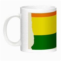 Lgbt Flag Map Of Minnesota  Night Luminous Mugs