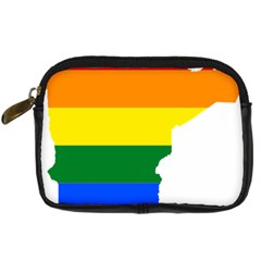 Lgbt Flag Map Of Minnesota  Digital Camera Cases