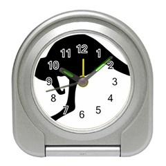 Roundel Of Australian Army Aviation Travel Alarm Clocks