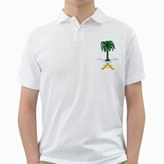 Emblem Of Saudi Arabia  Golf Shirts