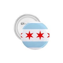 Flag Of Chicago 1 75  Buttons