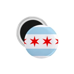 Flag Of Chicago 1 75  Magnets
