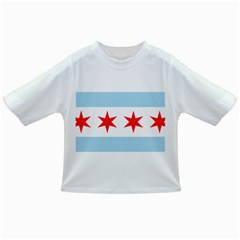 Flag Of Chicago Infant/toddler T Shirts
