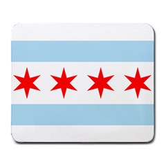 Flag Of Chicago Large Mousepads