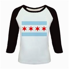 Flag Of Chicago Kids Baseball Jerseys