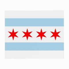 Flag Of Chicago Small Glasses Cloth (2 Side)