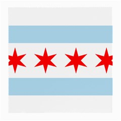 Flag Of Chicago Medium Glasses Cloth (2 Side)