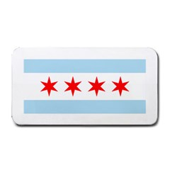 Flag Of Chicago Medium Bar Mats