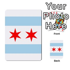 Flag Of Chicago Multi Purpose Cards (rectangle)