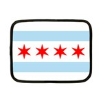 Flag Of Chicago Netbook Case (Small)  Front