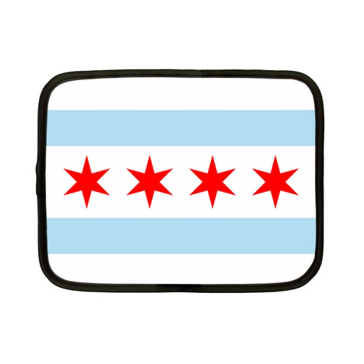 Flag Of Chicago Netbook Case (Small)