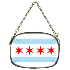 Flag Of Chicago Chain Purses (One Side)