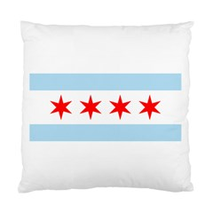 Flag Of Chicago Standard Cushion Case (two Sides)