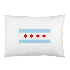 Flag Of Chicago Pillow Case