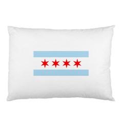 Flag Of Chicago Pillow Case