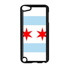 Flag Of Chicago Apple iPod Touch 5 Case (Black)
