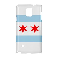 Flag Of Chicago Samsung Galaxy Note 4 Hardshell Case