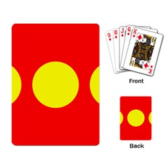 Flag Of Freetown Christiania Playing Card