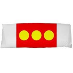Flag Of Freetown Christiania Body Pillow Case Dakimakura (two Sides)