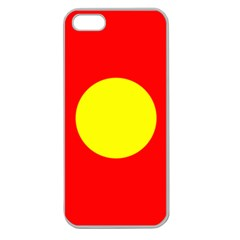 Flag Of Freetown Christiania Apple Seamless Iphone 5 Case (clear)