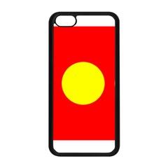 Flag Of Freetown Christiania Apple iPhone 5C Seamless Case (Black)