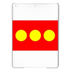 Flag Of Freetown Christiania Ipad Air Hardshell Cases