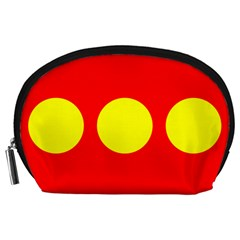 Flag Of Freetown Christiania Accessory Pouches (Large)