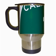 California 1 State Highway   Pch Travel Mugs (White)