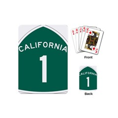 California 1 State Highway   Pch Playing Cards (mini)