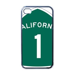 California 1 State Highway   Pch Apple iPhone 4 Case (Black)