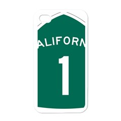 California 1 State Highway   Pch Apple iPhone 4 Case (White)