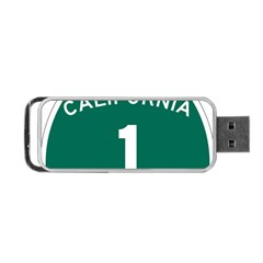 California 1 State Highway   Pch Portable USB Flash (Two Sides)