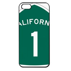California 1 State Highway   Pch Apple iPhone 5 Seamless Case (Black)